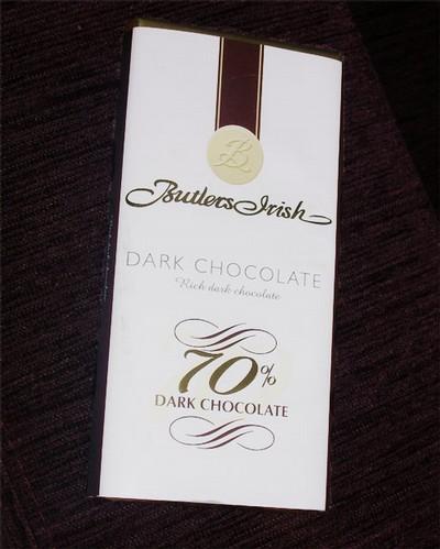 Butler's dark chocolate