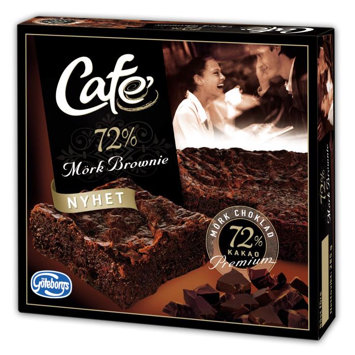 café brownie 72% mörk choklad