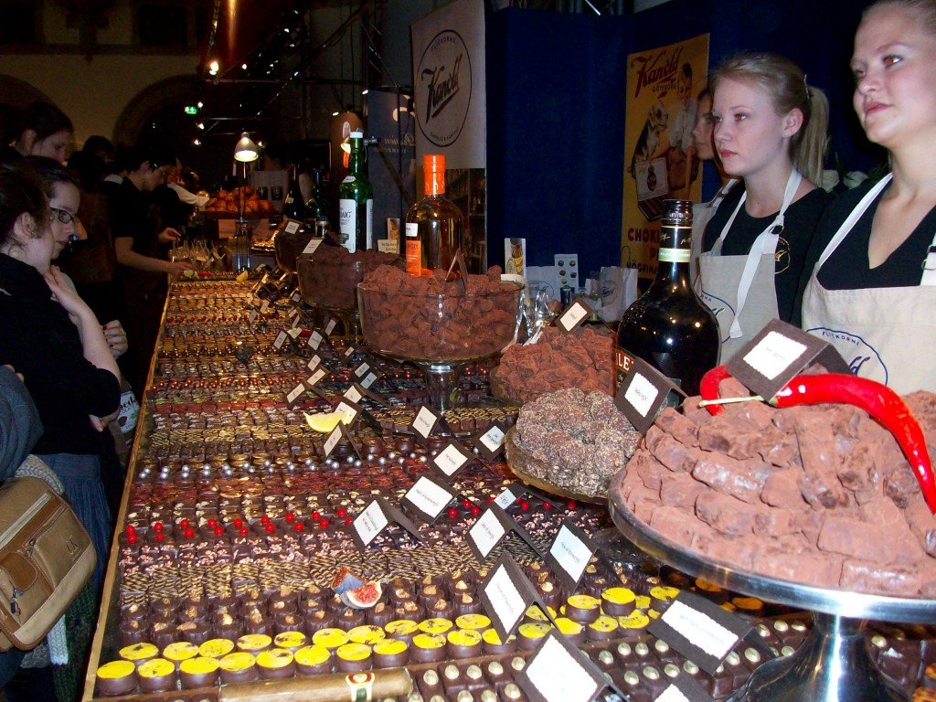chokladfestivalen på nordiska muséet
