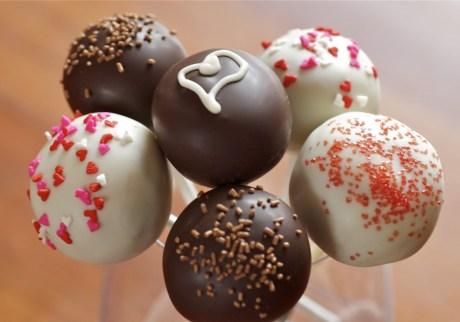 choklad cake pops