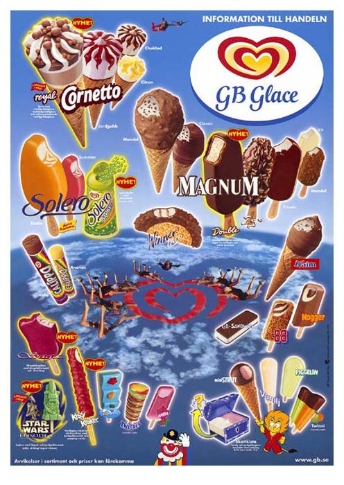 GB Glasskarta - Magnum - 1999