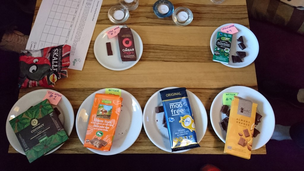 Provning av vegansk choklad: Alla choklader med omslag