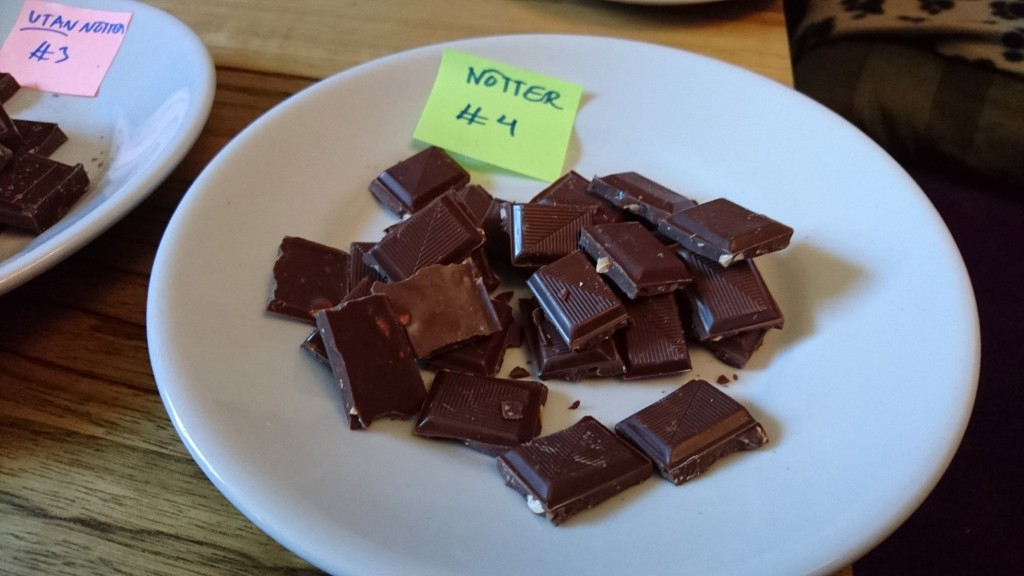 Provning av vegansk choklad: iChoc Almond Orange, vegan