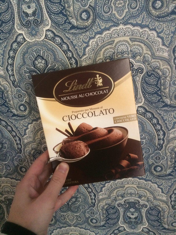 Lindt Mousse Chocolat Förpackning