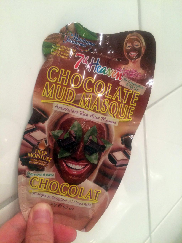 Chokladansiktsmask - 7th Heaven Chocolate Mud Masque