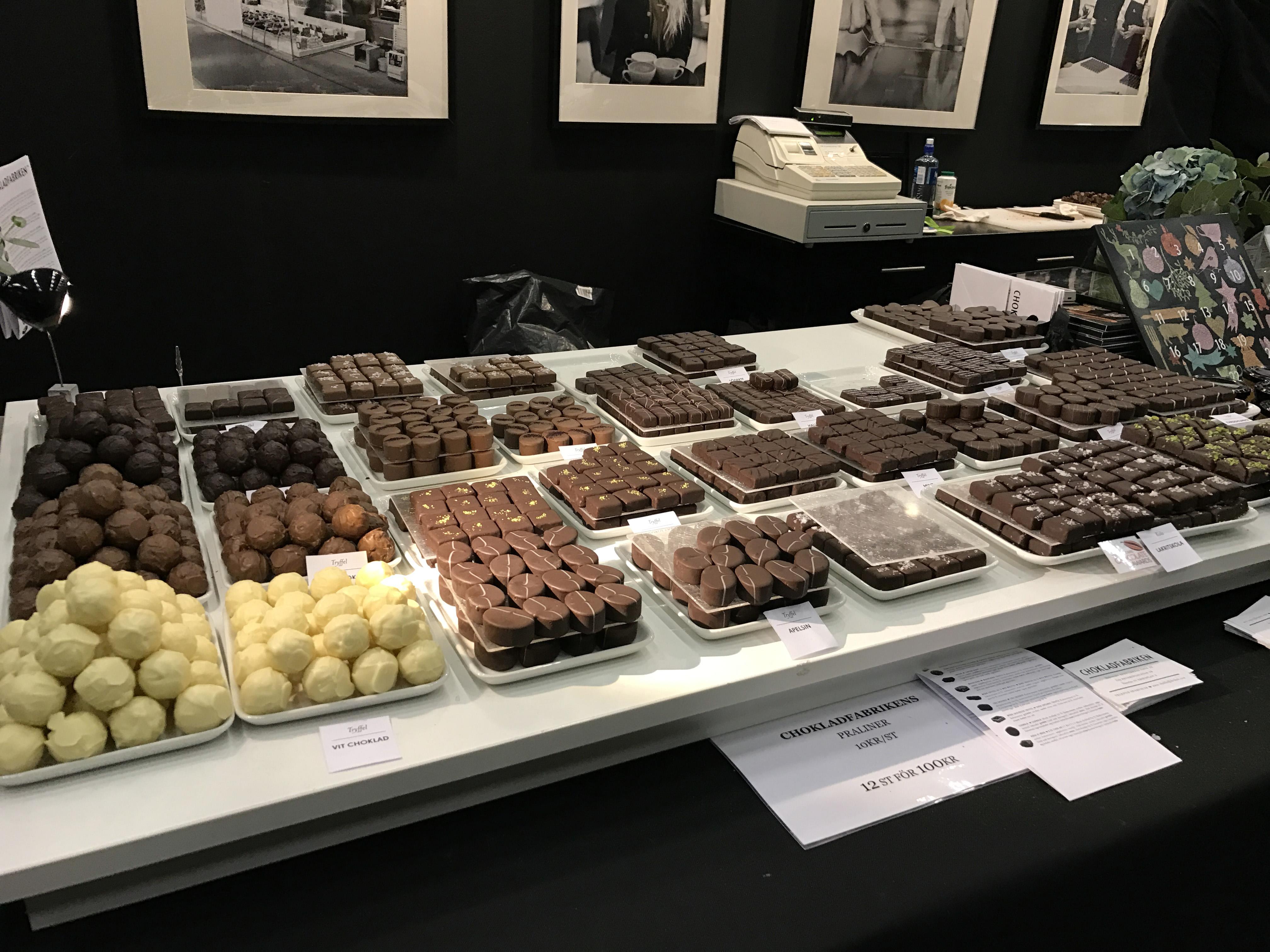 Chokladfabriken på Bak- och Chokladfestivalen 2016