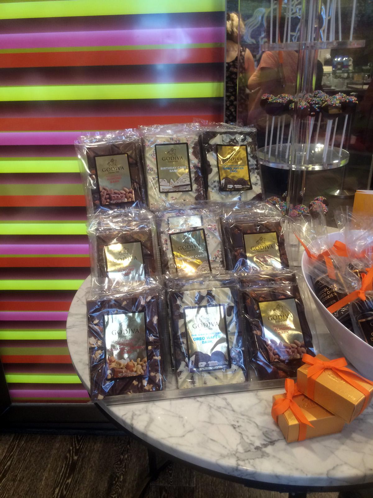 Choklad på Godiva