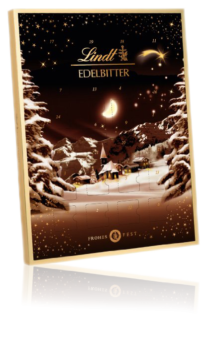 Lindt Mörk Chokladkalender