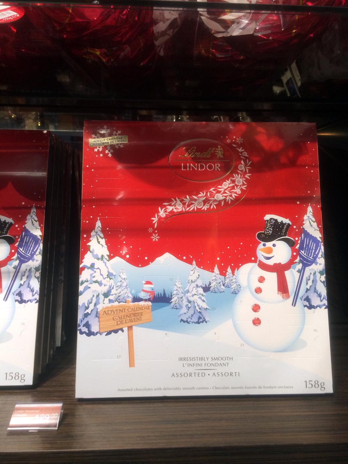 Lindt Chokladkalender Blandad