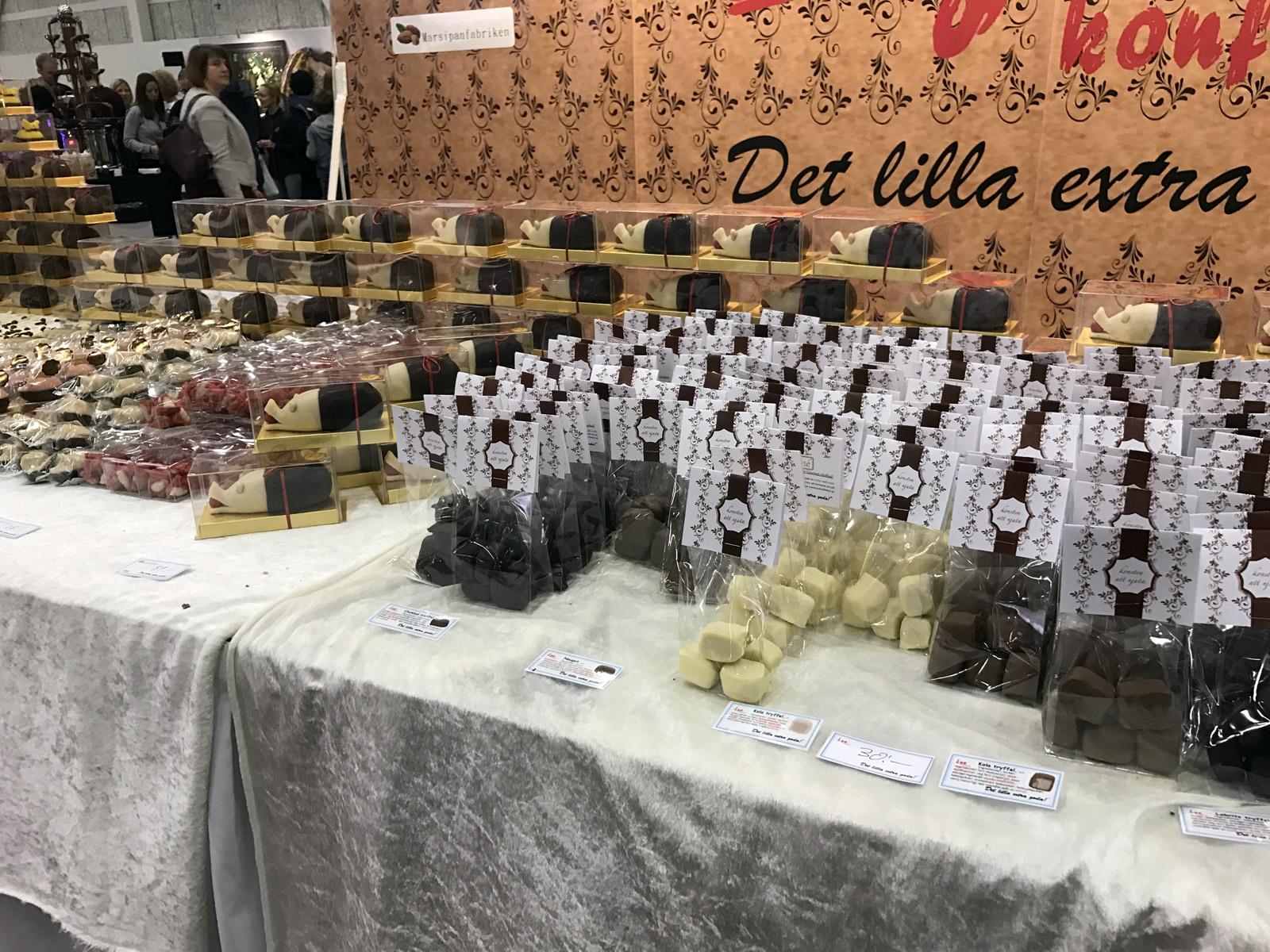 Lyx & Konfektyr på Bak- och Chokladfestivalen