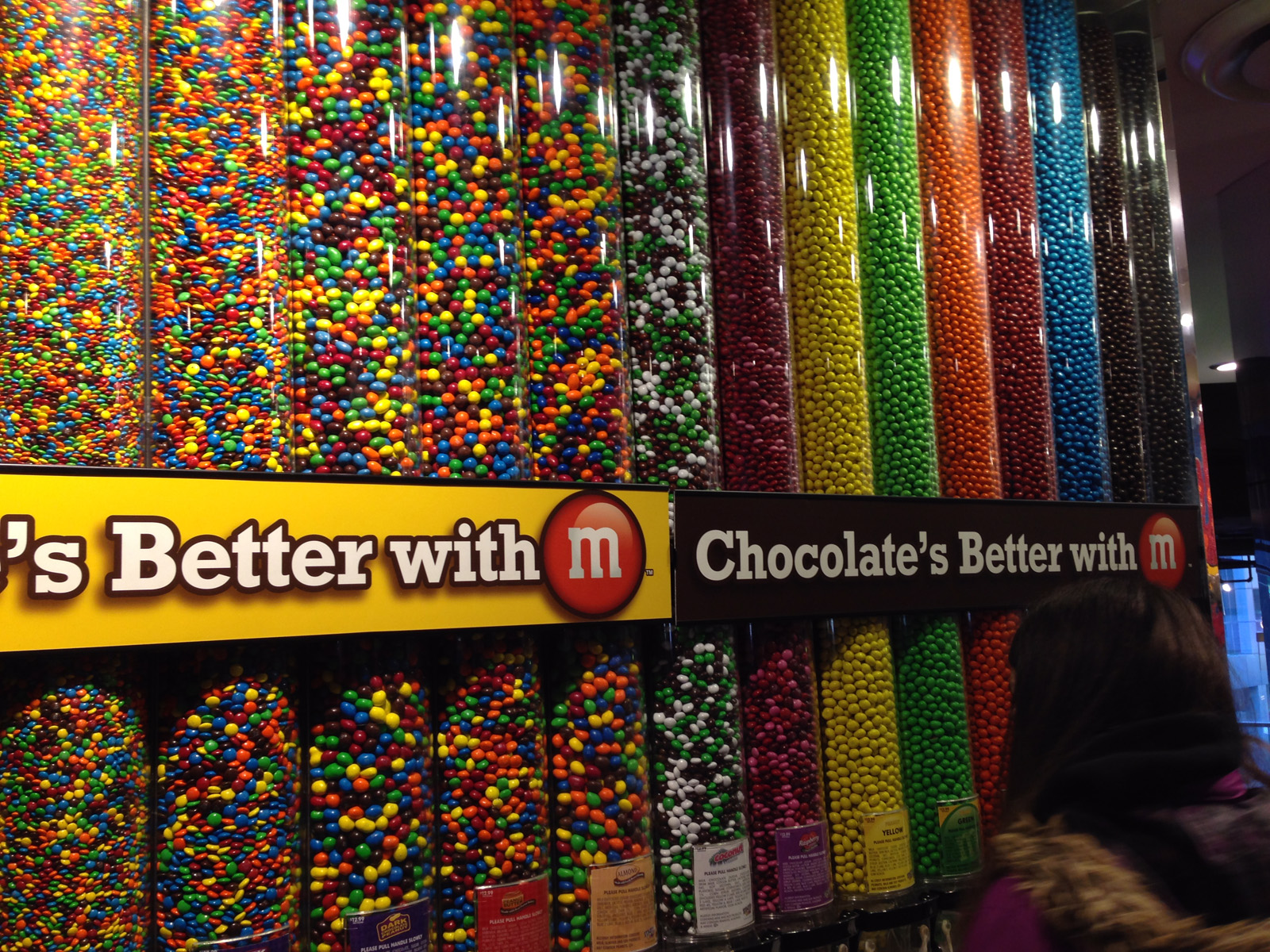 M&M-butiken på Times Square