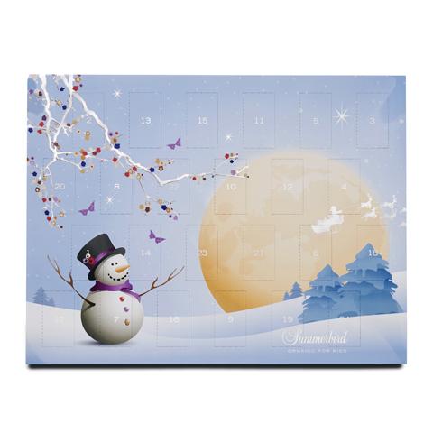 Summerbird Chokladkalender för barn