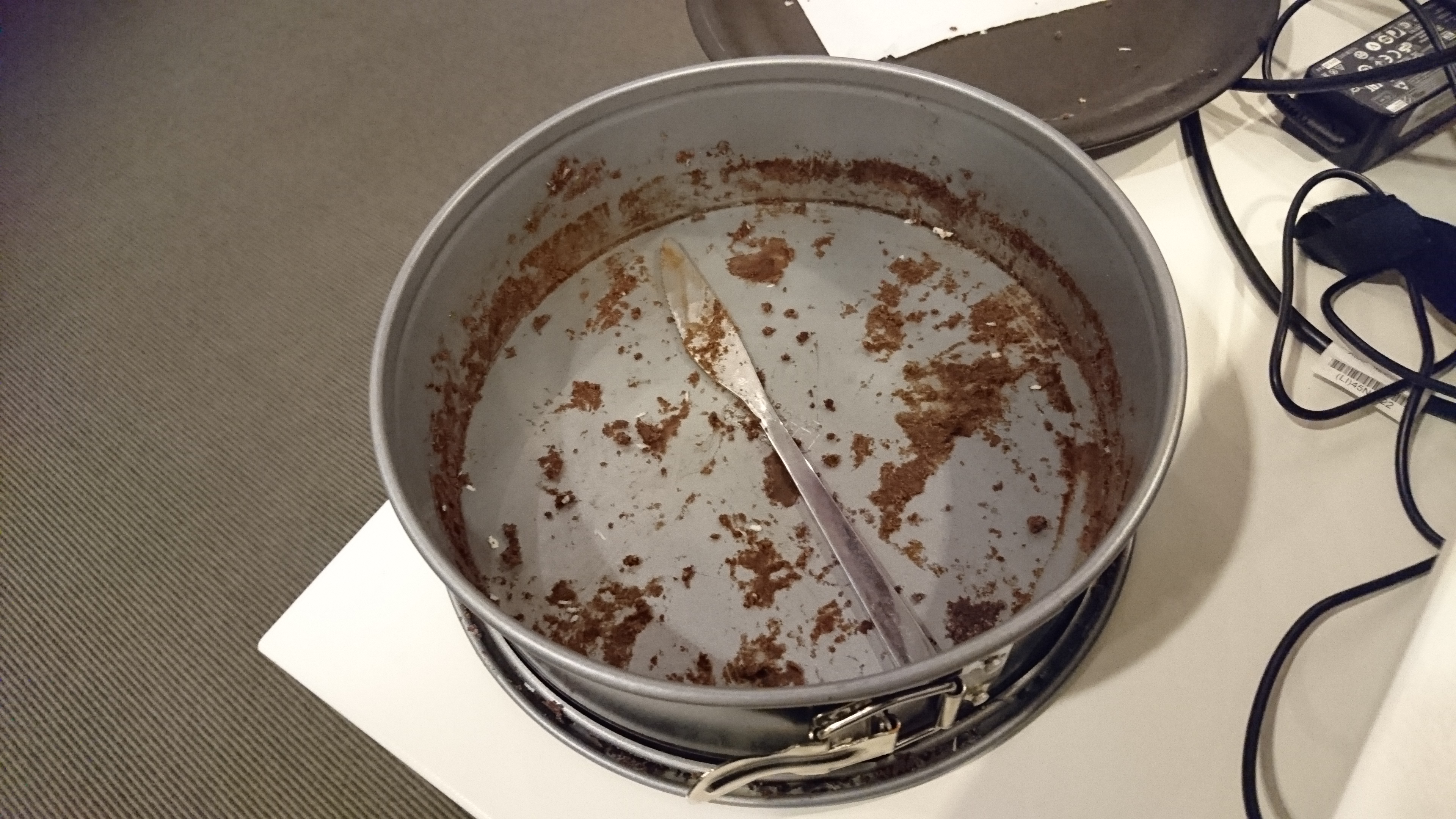 Tårtan slut :(