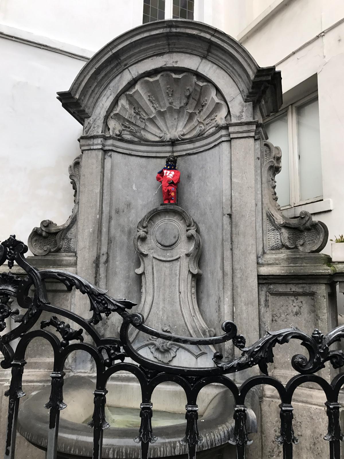 Manneken Pis i Bryssel