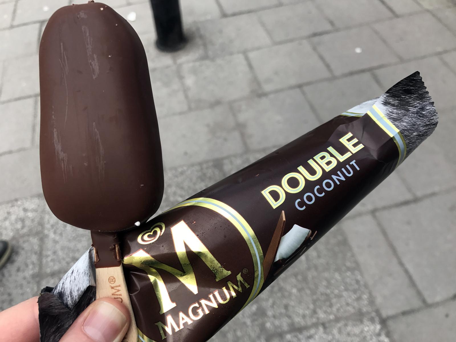 Magnum Double Coconut