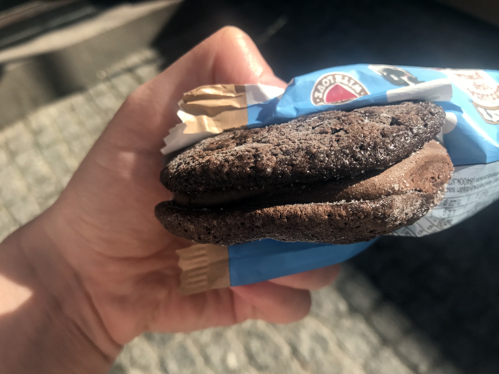Ben & Jerry's Fudge Brownie 'Wich 2